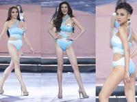 Màn trình diễn bikini nóng bỏng tại Bán kết Hoa hậu Hoàn vũ Việt Nam 2019