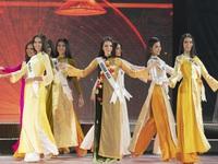 Top 45 trình diễn áo dài đẹp 'hớp hồn' tại Bán kết Hoa hậu Hoàn vũ Việt Nam 2019