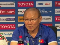 Park Hang-seo satisfied with players' display against Jordan