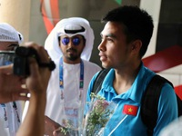 Vietnamese squad arrive in Al Ain for survival match with Yemen