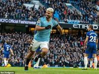 Lập hat-trick vào lưới Chelsea, Aguero sánh ngang huyền thoại Shearer