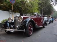 Triển làm siêu xe cổ điển tại Ấn Độ