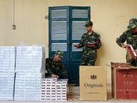 Thu giữ 3.500 gói thuốc lá ngoại nhập lậu tại An Giang