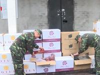 Quảng Ninh thu giữ 15.000 bao thuốc lá nhập lậu