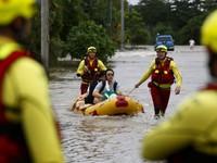 Nguy cơ ngập lụt nặng tại Australia