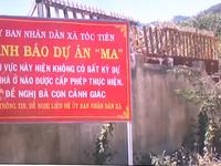 Nhiều dự án ma xuất hiện, chính quyền  treo bảng cảnh báo lừa đảo đất nền