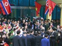 Chùm ảnh: Chủ tịch Triều Tiên Kim Jong-un rời ga Đồng Đăng (Lạng Sơn), kết thúc chuyến công du tới Việt Nam