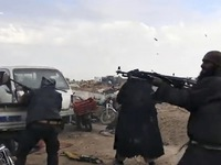 Hàng trăm chiến binh IS bị bắt