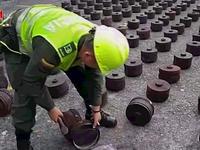Colombia thu giữ 1,5 tấn cocaine