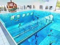 Bể bơi sâu nhất thế giới sắp mở cửa đón khách