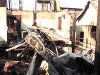 Hỏa hoạn gây thiệt hại 9 căn nhà ở An Giang