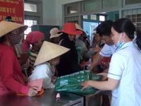 Phú Yên: Cấp phát mùng phòng chống sốt rét cho người dân