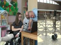 Robot giúp trẻ em bị ốm thăm vườn thú