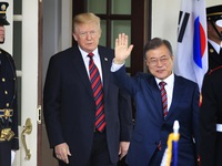 Hội nghị Thượng đỉnh Mỹ - Hàn Quốc hướng tới thiết lập hòa bình trên bán đảo Triều Tiên