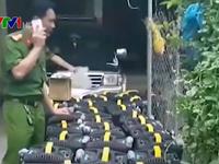 Phát hiện nhà kho từng cất giấu gần 1 tấn tinh thể nghi ma túy đá ở Nghệ An