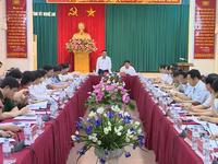 Tiểu ban Điều lệ Đảng Đại hội XIII làm việc tại tỉnh Nghệ An, Hà Nam