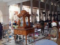 Lại nổ xe tải gần nhà thờ ở thủ đô Colombo, Sri Lanka