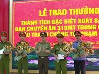Nghệ An khen thưởng Ban chuyên án bắt giữ 700kg ma túy đá