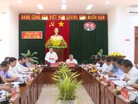 Tiểu ban Văn kiện Đại hội XIII làm việc tại Kon Tum