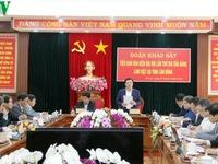 Tiểu ban Văn kiện Đại hội XIII làm việc Lâm Đồng