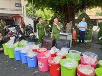Bắt kho chứa 500kg ma túy do đối tượng người Trung Quốc cầm đầu