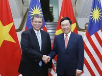 Strengthening cooperation with Malaysia