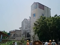 Cháy quán cà phê tại huyện Đông Anh (Hà Nội): Hai người tử vong do ngạt khí