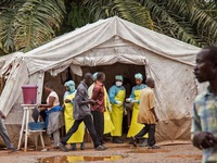 Nguy cơ dịch Ebola ngày càng nghiêm trọng ở Congo