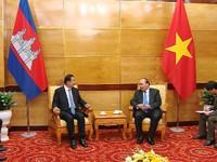 Đưa quan hệ Việt Nam - Campuchia phát triển ngày càng sâu rộng