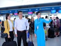 Vietnam Airlines triển khai dịch vụ làm thủ tục hàng không nhanh chóng