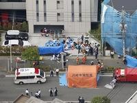 Tấn công bằng dao tại Nhật Bản, 19 người thương vong
