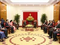 Việt Nam - Campuchia tăng cường hợp tác