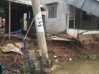 Nhanh chóng tìm giải pháp khắc phục sạt lở bờ sông Ô Môn, Cần Thơ