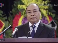 Thủ tướng Nguyễn Xuân Phúc: Sự ra đi của nguyên Chủ tịch nước Lê Đức Anh là tổn thất to lớn với Đảng, Nhà nước, quân đội và nhân dân ta