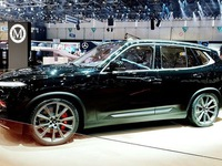 Domestic automaker introduces special car model at Geneva Exhibition