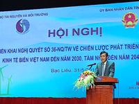 Phát triển bền vững kinh tế biển Việt Nam