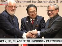 Nhật, Mỹ và EU hợp tác trong lĩnh vực nhiên liệu hydro