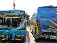 Tai nạn xe bus nghiêm trọng tại Indonesia, 12 người thiệt mạng