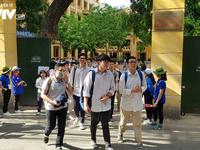 18 thi sinh bị đình chỉ trong ngày thi thứ hai Kỳ thi THPT Quốc gia 2019