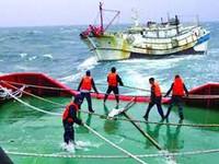 Tìm kiếm cứu nạn vụ lật tàu trên biển Hải Phòng