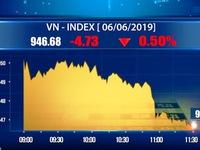 Thị trường chứng khoán trong nước đã quay đầu giảm
