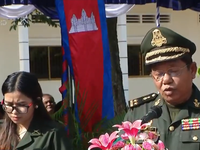 Bàn giao hài cốt quân tình nguyện Việt Nam hy sinh tại Campuchia