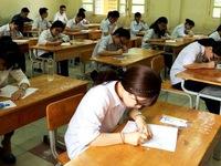 Sáng nay (9/8), thí sinh chính thức làm bài thi tốt nghiệp THPT môn Ngữ văn