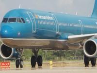 Vietnam Airlines resumes flights from hcmc to Van Don airport