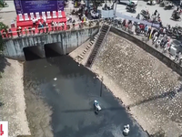 Xả nước Hồ Tây không ảnh hưởng đến thử nghiệm trên sông Tô Lịch