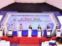 Largest solar farm in Khanh Hoa province inaugurated
