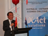 Vietnamese enterprises promote business cooperation in Australia