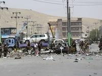 Đánh bom liên hoàn tại Kabul (Afghanistan) gây nhiều thương vong