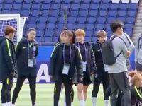 Hàn Quốc mong cùng đăng cai World Cup bóng đá nữ với Triều Tiên
