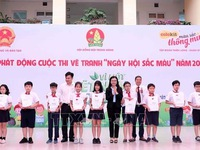 Children's painting contest contributes to environmental protection